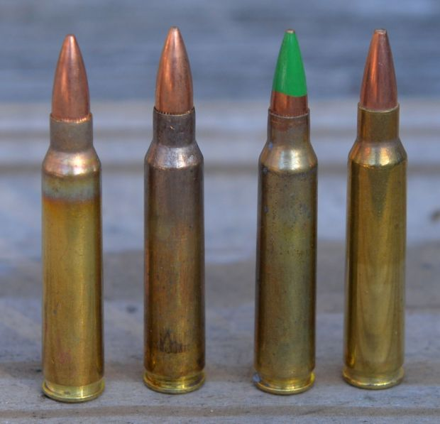 223 ammuniton UMC 55, M193, M855 and Black Hills 68