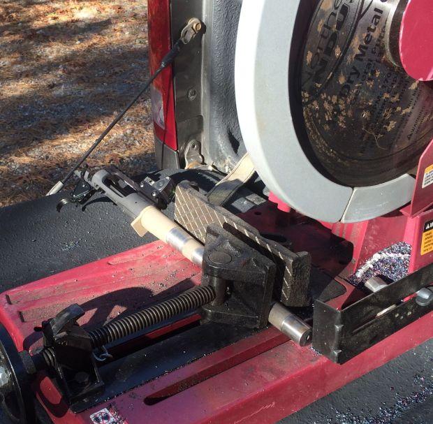 cutting 223 pistol barrel