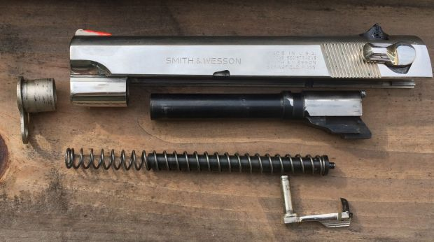Smith and Wesson 39-2 slide