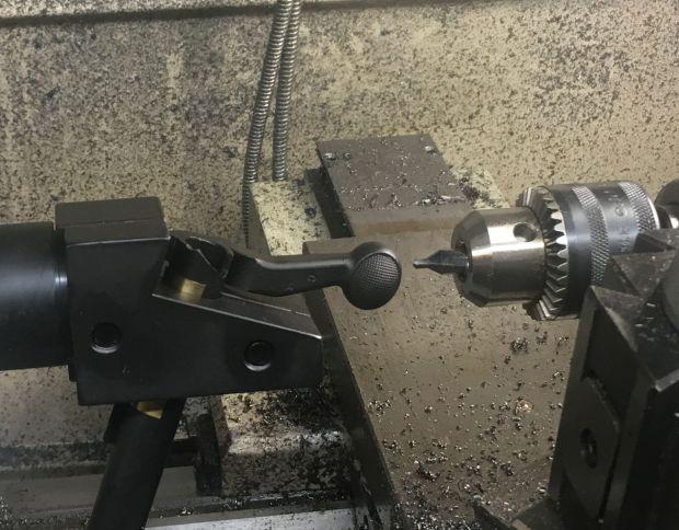 center drill bolt handle M700 7.62x39mm