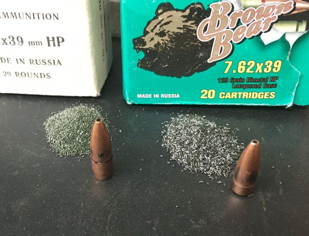 pulled bullets 7.62x39