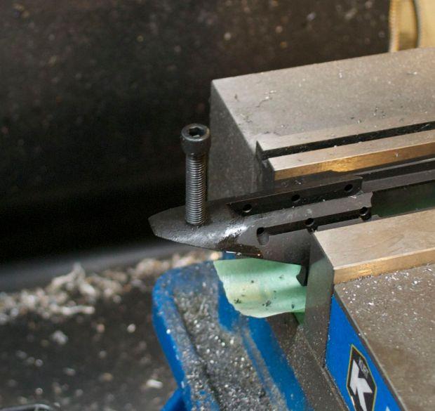 screw test fit Rem 7 300 BLK