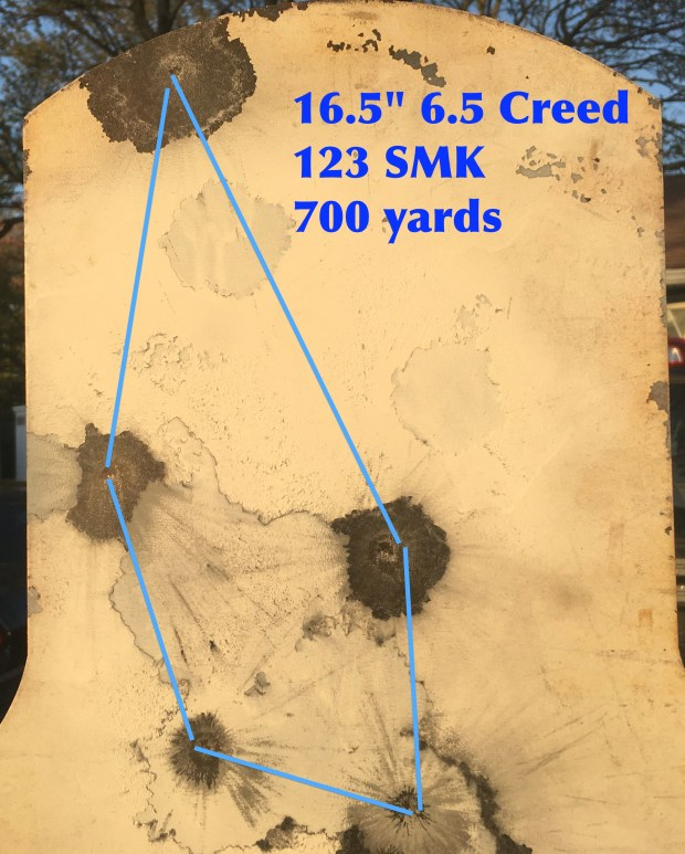 16.5%22 6.5 Creed 700 yards