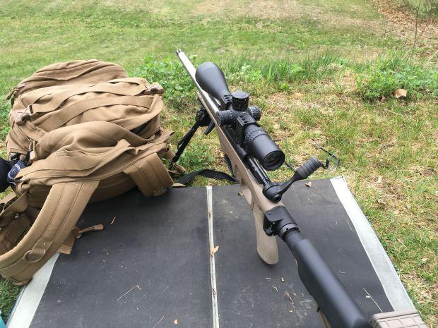 6.5 creed Savage on firing line