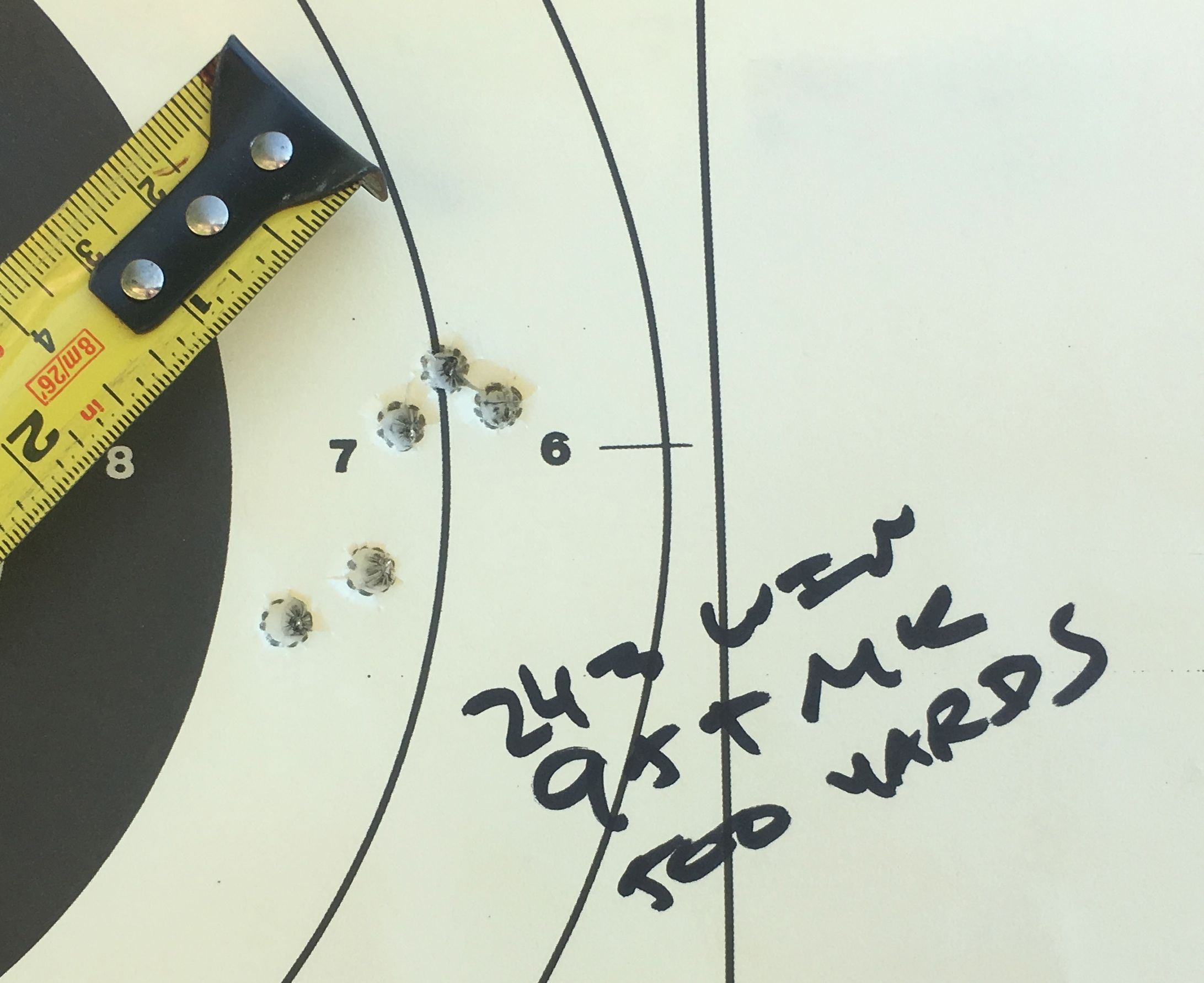 95 TMK 243 win at 500 yards