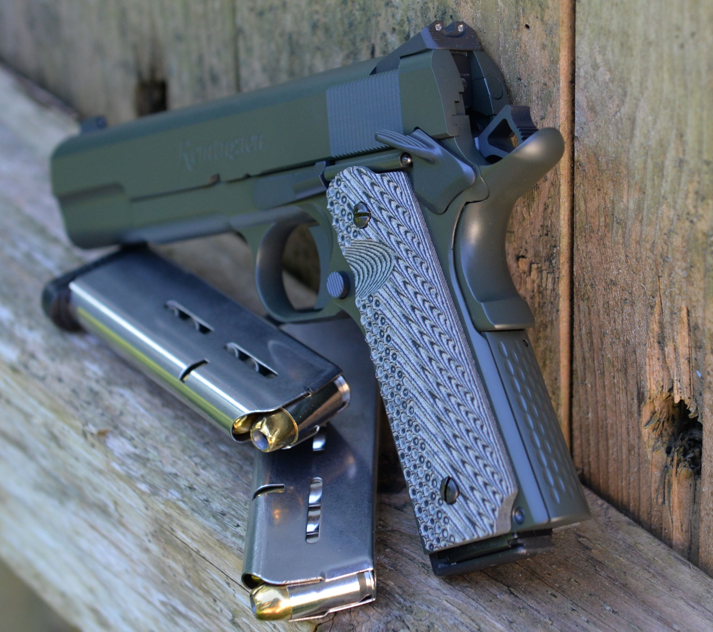 custom 1911 left rear
