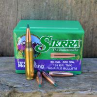 308 Winchester load development: Sierra .308 195 gr. Tipped MatchKing (TMK) REVIEW with IMR 4064