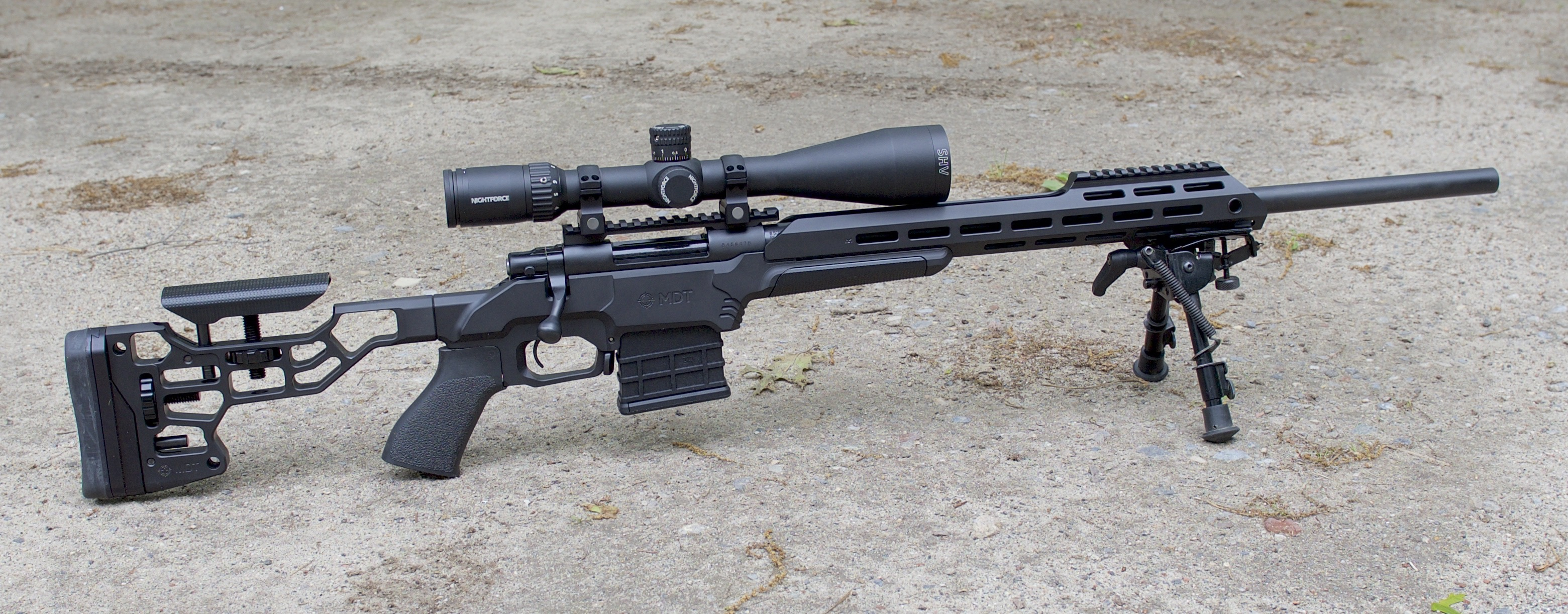Howa 1500 with MDT ESS chassis system in 6 5 Creedmoor