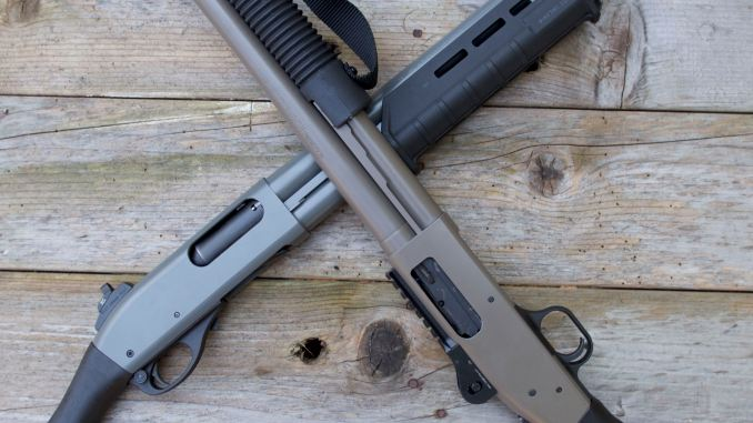 SHOCKING SHOCKWAVES: Rem TAC-14 v  Mossberg 590 SHOCKWAVE