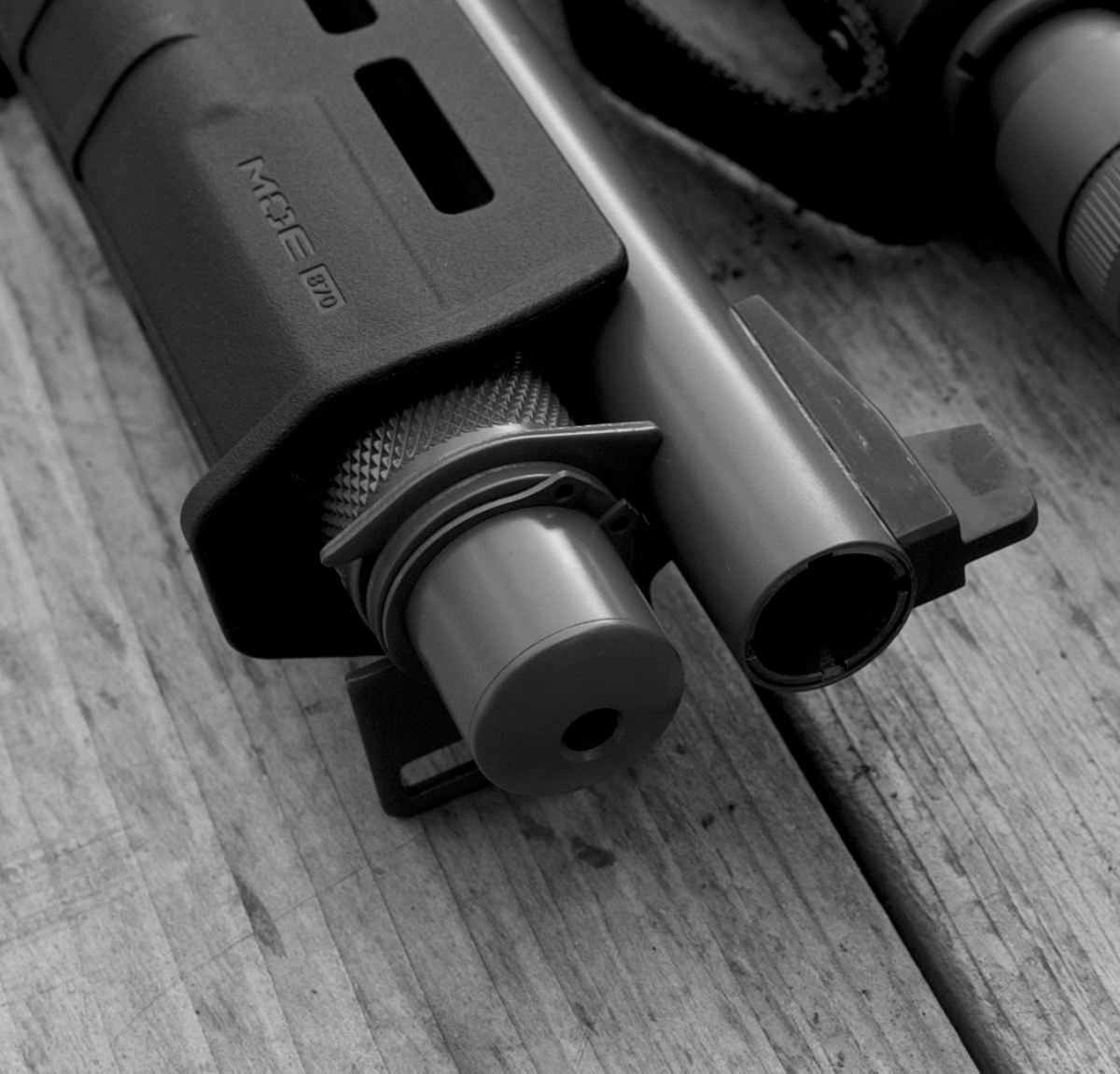 Remington 870 magazine dimple removal