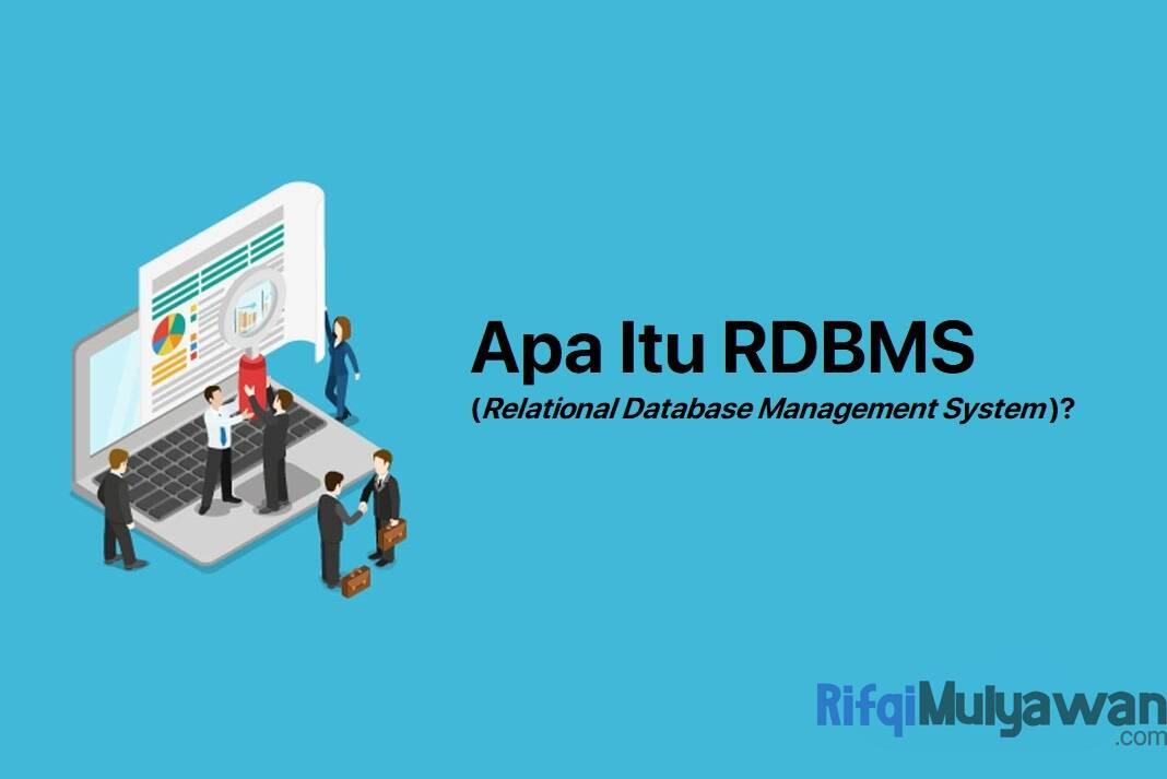rdbms adalah pengertian fungsi cara