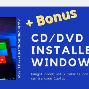 Gambar Produk CD DVD Windows 10 8.1 8 Dan 7 All In One Installer 32 64 Bit Plus Microsoft Office