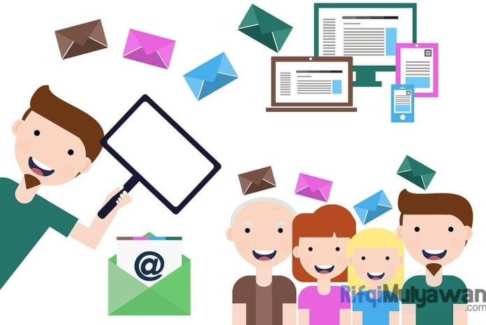 Ilustrasi Gambar Pengertian Email Marketing