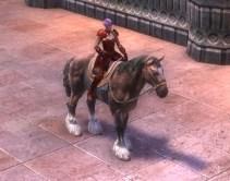 RIFT Chestnut Horse Bridle