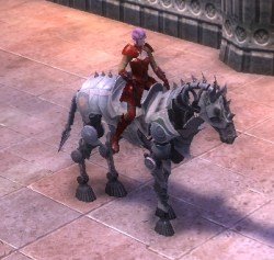 RIFT Nimble Silver Eldritch Steed Bridle Mount