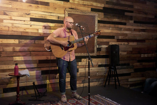 Peter Miller at the Warming House in Minneapolis