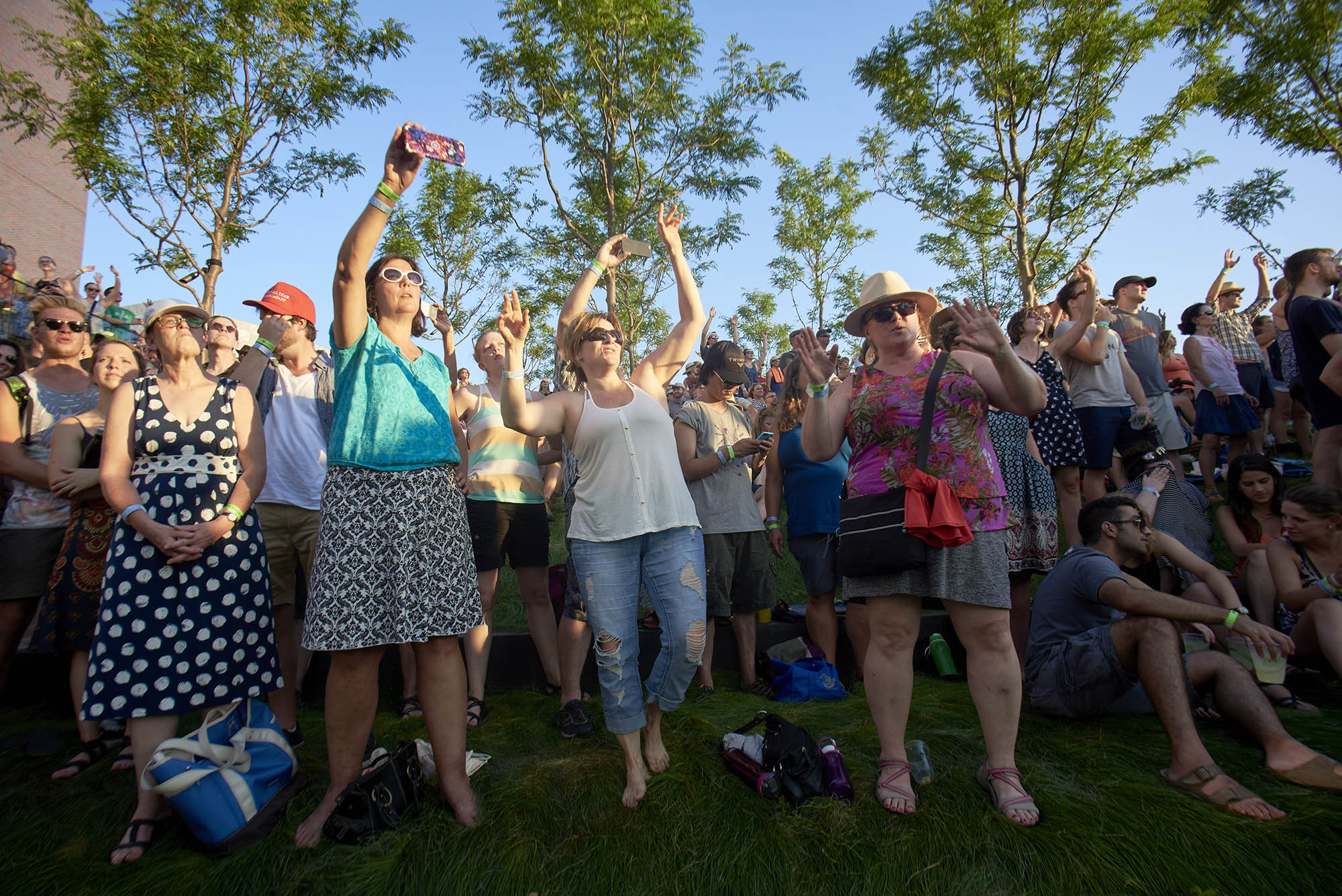 "2017 ""Rock The Garden"" festival in Minneapolis"