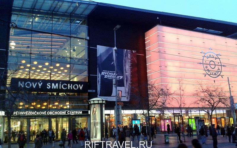 Торговый центр Novy Smichov