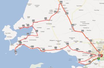 Tralee Marathon Full Route