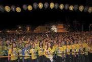 Some of the huge crowd at the Darkness into Light Walk