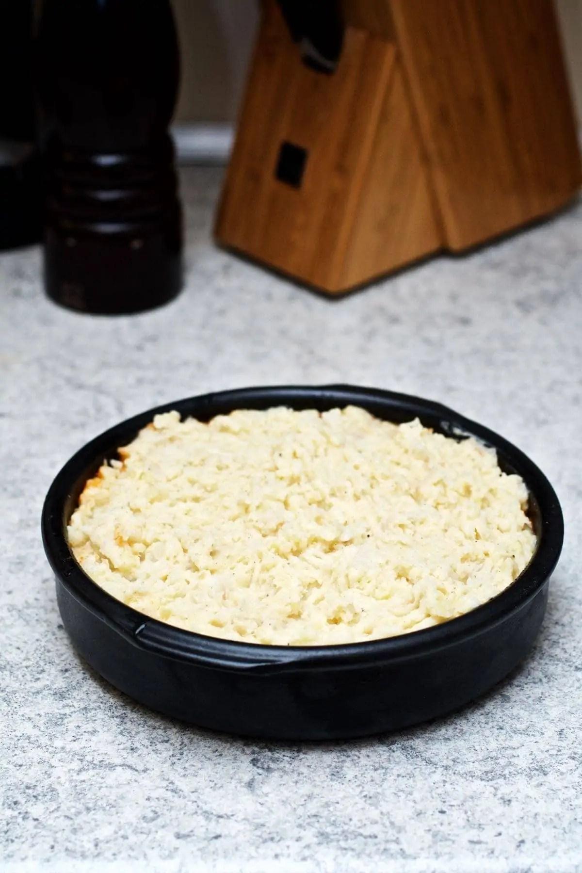 Shepherd's pie med cheddarmos