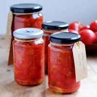 Henkogte tomater - opskrift på konserverede tomater