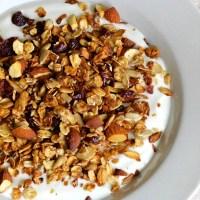 Honningristet müsli - nem opskrift på müsli