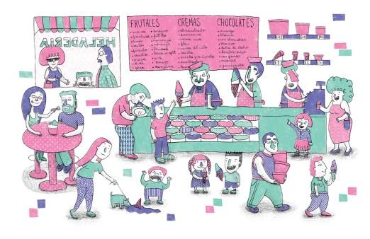 Ilustración de Encuentros