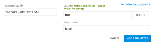 Staged Rollout conditional