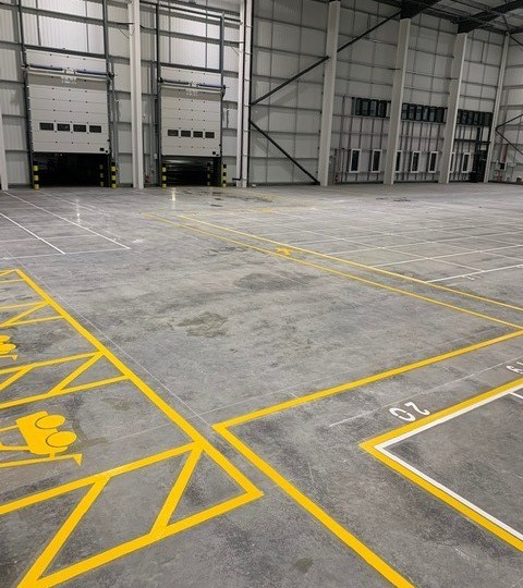 Warehouse Line Marking in Hemel Hempstead