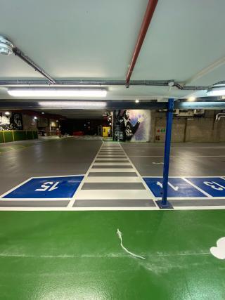 Car Park Line Markings