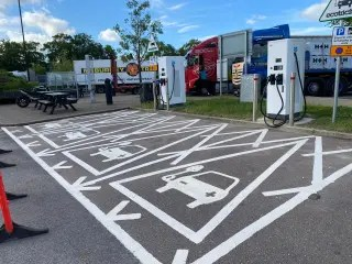 New Electric Vehicle Charging Bays