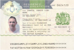 Permanent Residence Documents for EEA Nationals