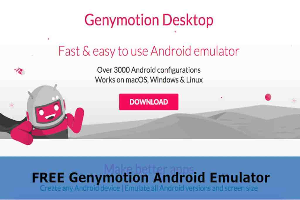 Download FREE Genymotion Android Emulator - Rightapp4u