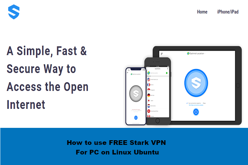 FREE Stark VPN For PC on Linux rightapp4u