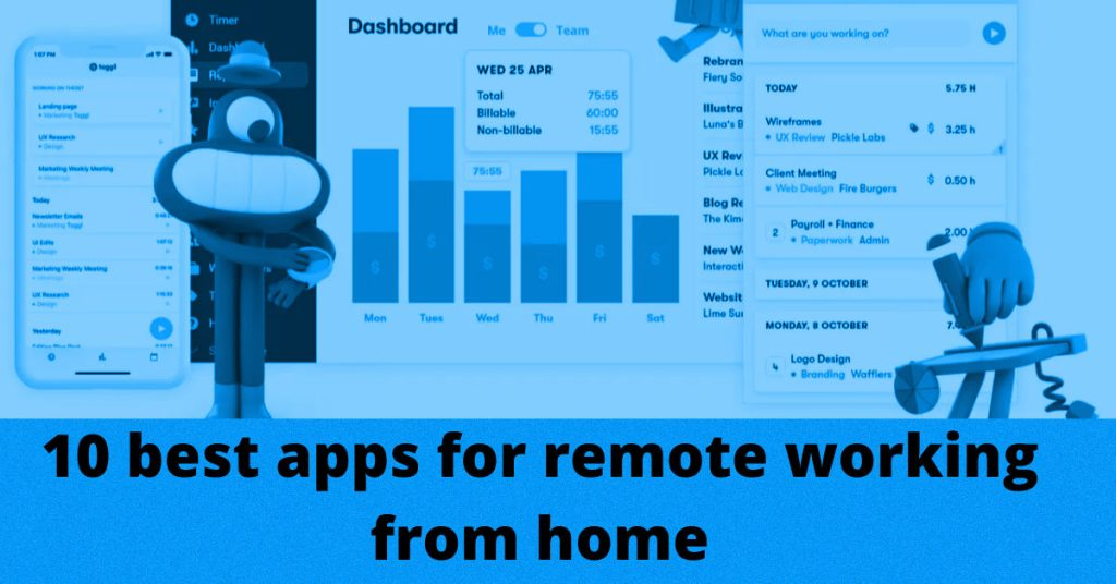 Best 10 FREE apps for remote working from home - Rightapp4u.com