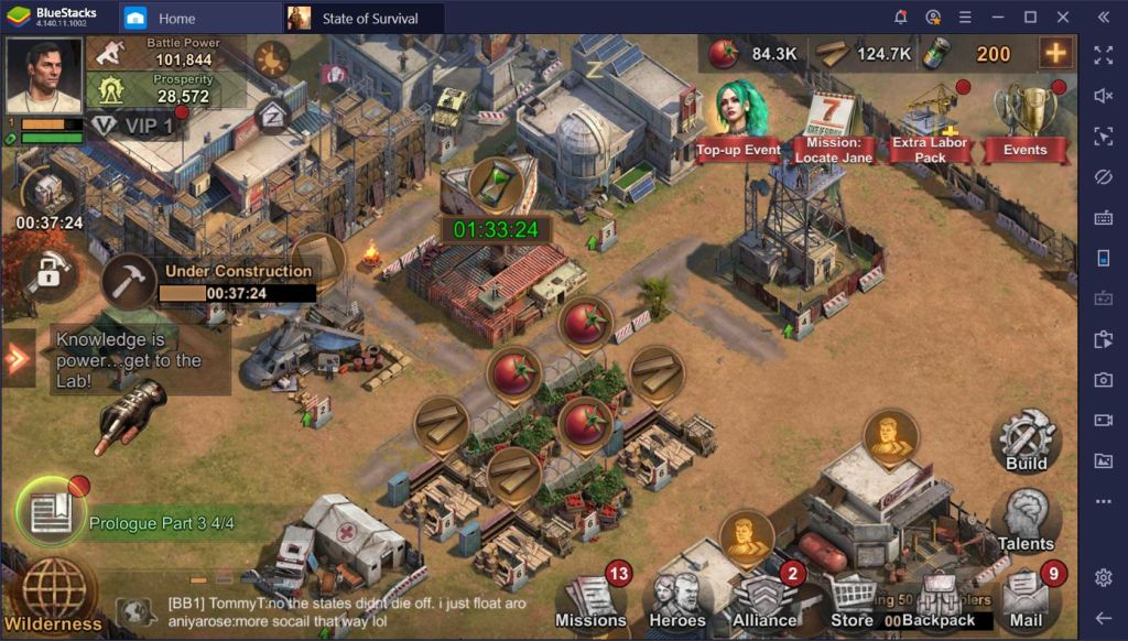 FREE strategy mobile game - State of Survival for PC