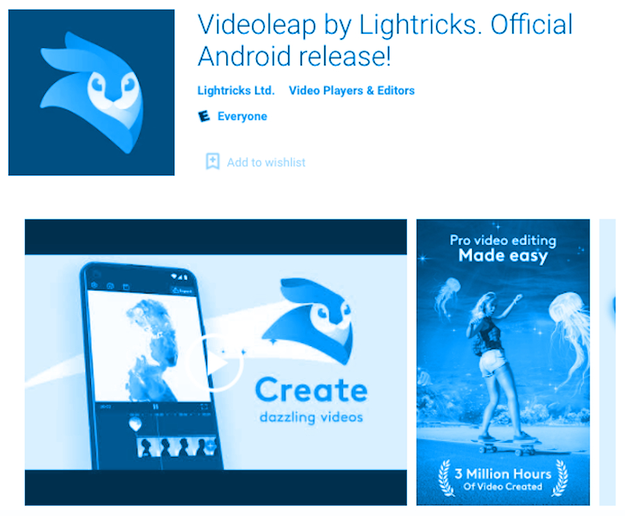 VideoLeap for PC Video Editor – Download and install for FREE - RightApp4u
