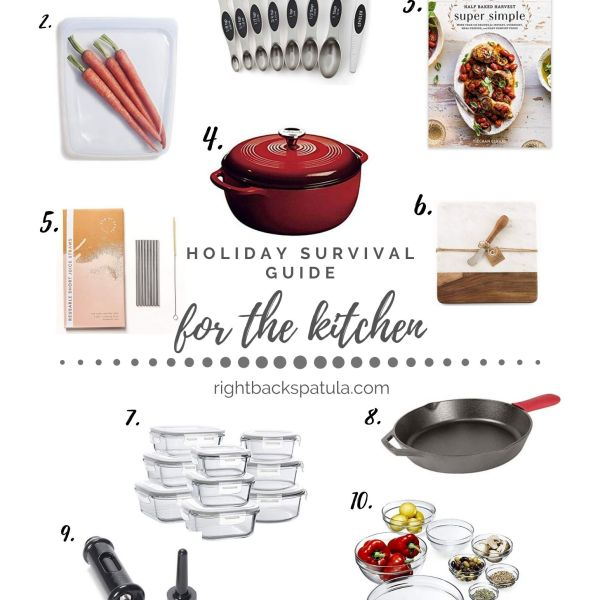 Best Kitchen Items to Survive the Holidays