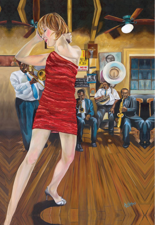 Roxanne – Kenny Bridges, artist