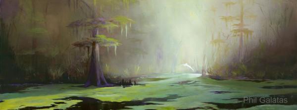 Swamp Mist- Phil Galatas, artist