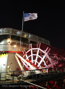 The Natchez steamboat