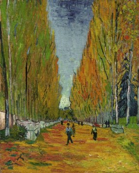 Vincent Van Gogh's L'Allée des Alyscamps