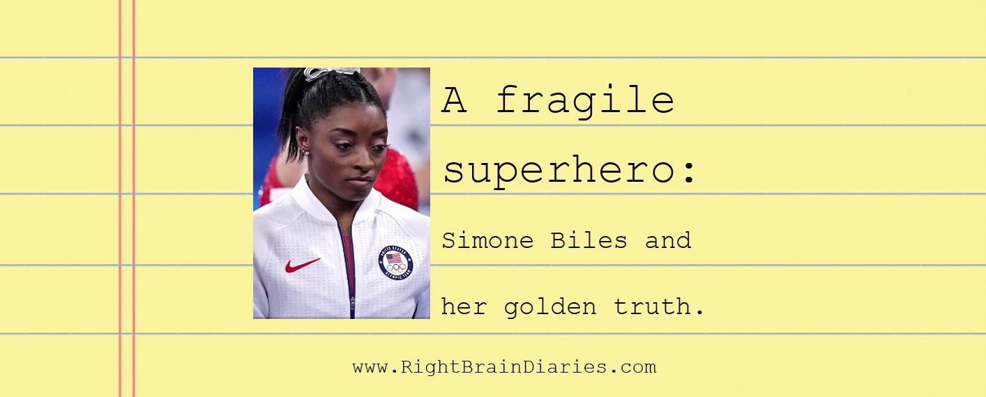 A fragile superhero: Simone Biles