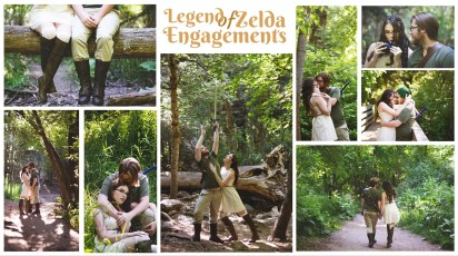Zelda Themed Engagement Photos