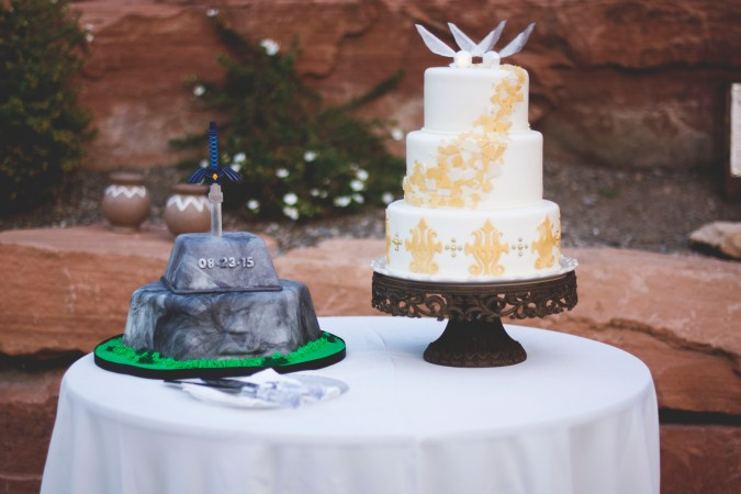 Zelda Wedding Cakes