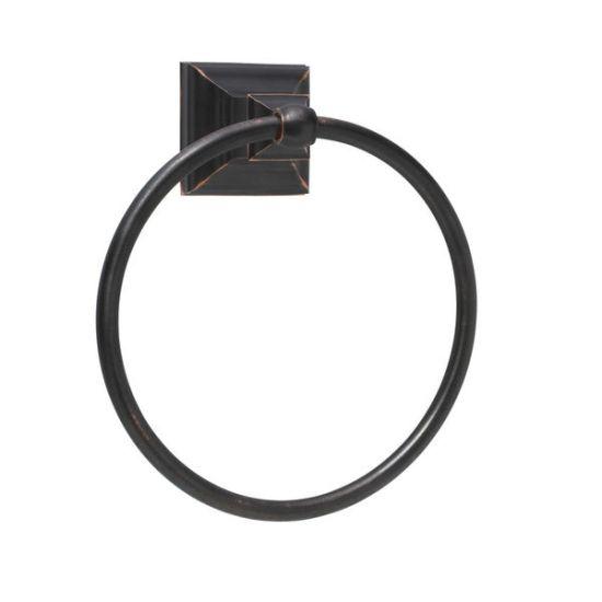 Amerock Markham Towel Ring, Overstock $30