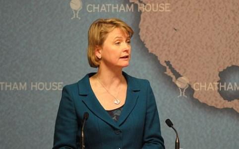 Yvette Cooper, Chatham House