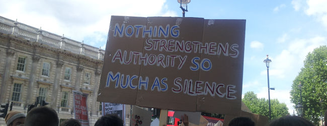 Human Rights Act Protest, May 30 2015