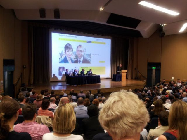 Lib Dem Hustings, UCL, June 2015